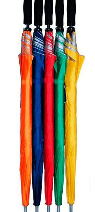 Sombrilla 29 pulgadas, 1 seccion, 8 varillas, manual, polyester.
